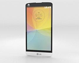 LG L Prime White 3D model