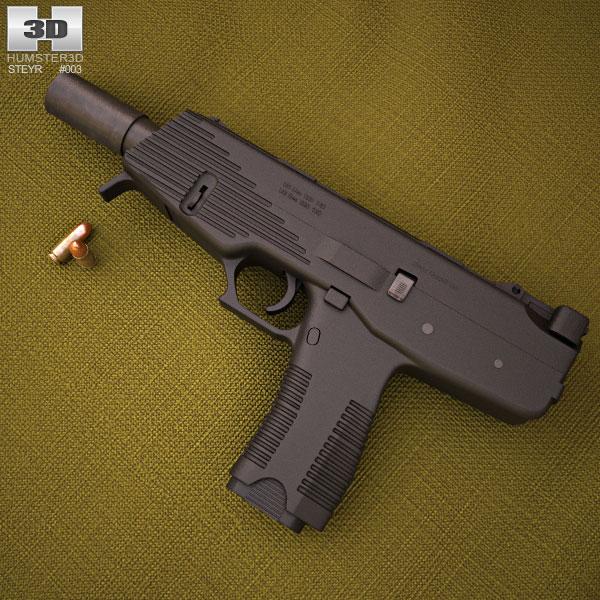 Steyr SPP 3d model