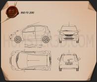 BYD F0 2012 Blueprint