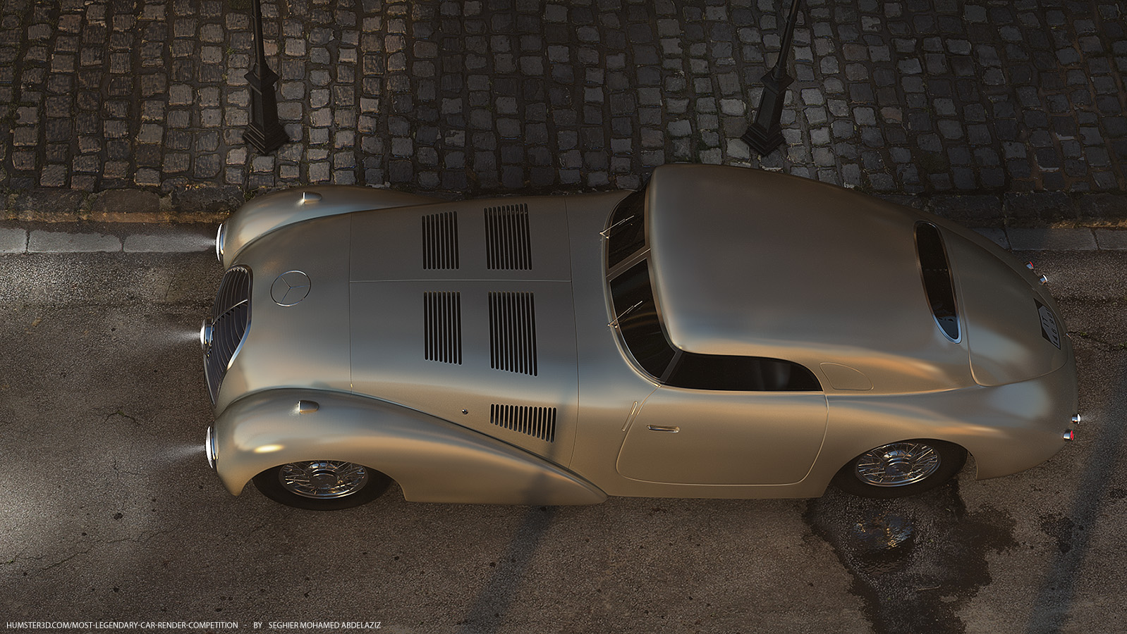 Piece of history: Mercedes-Benz 540k Streamliner