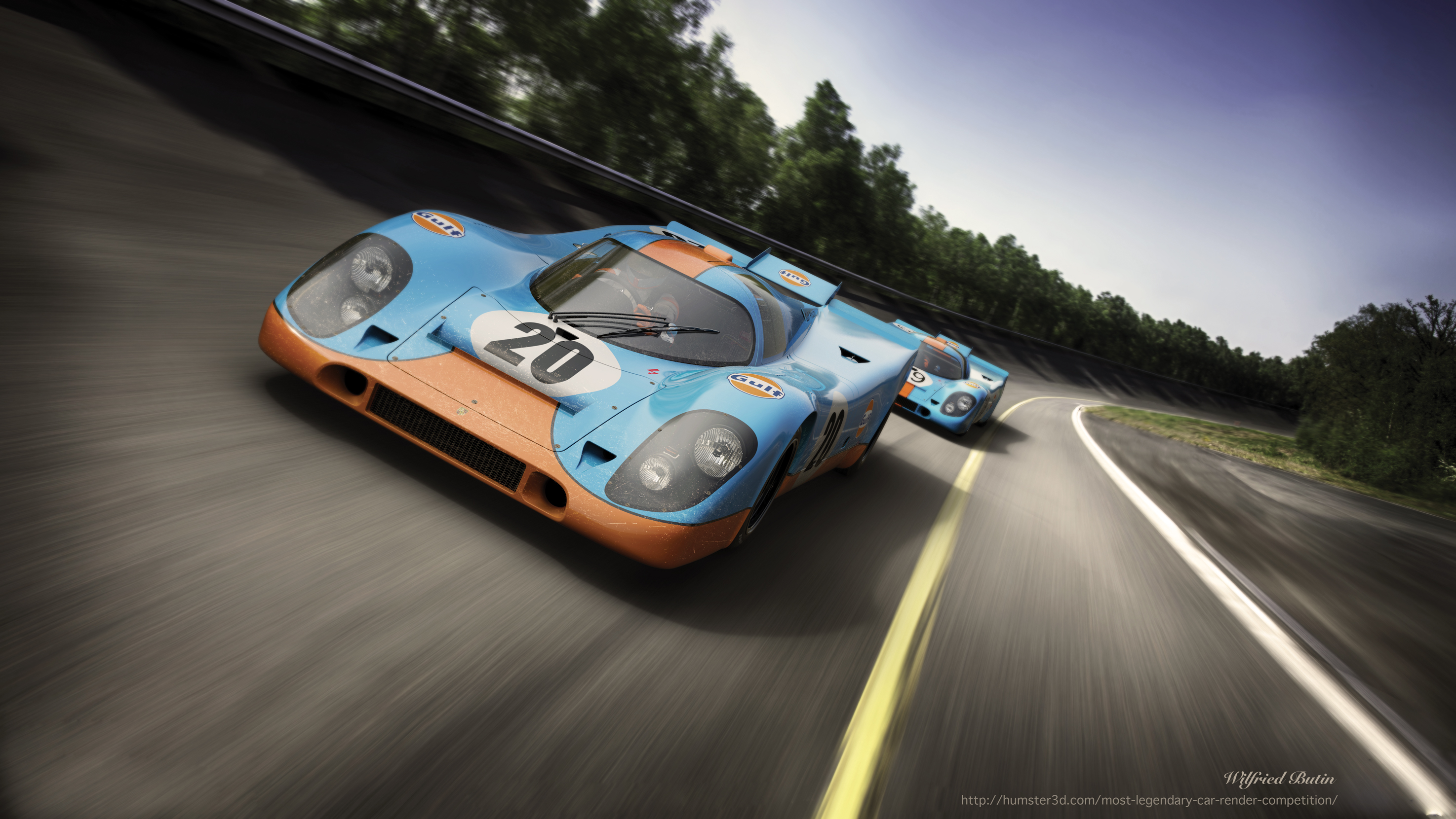 The iconic 917 K 3d art