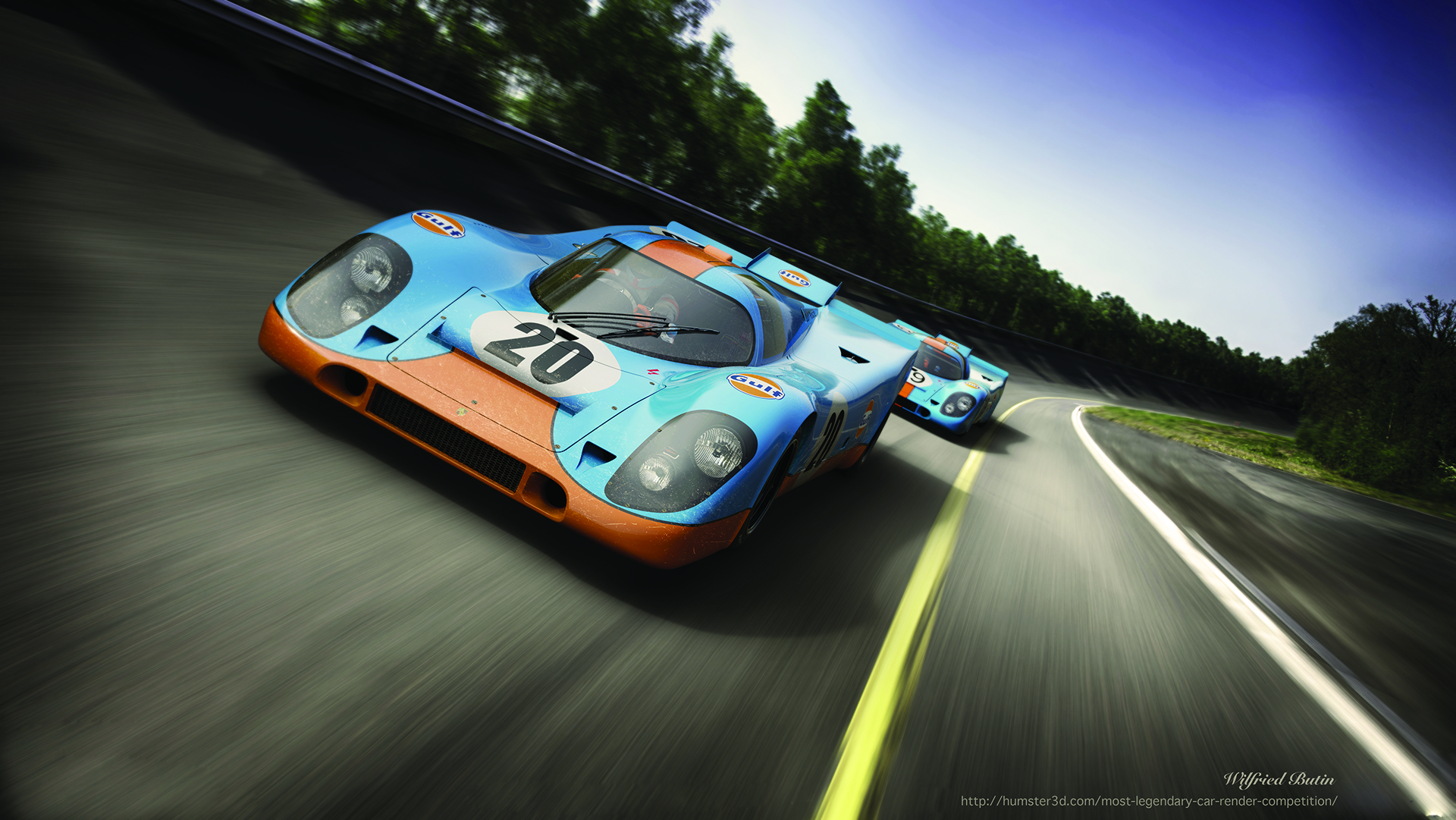 The iconic 917 K