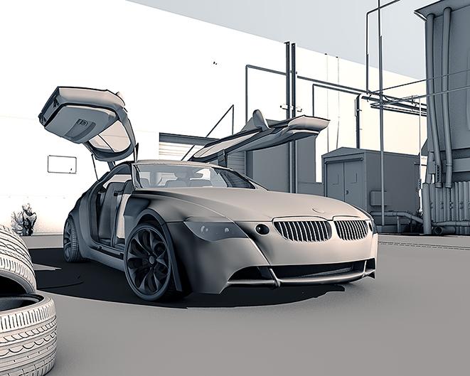 The Z9 Gran Turismo - Samir Osmani - 3D vehicle competition - Hum3D