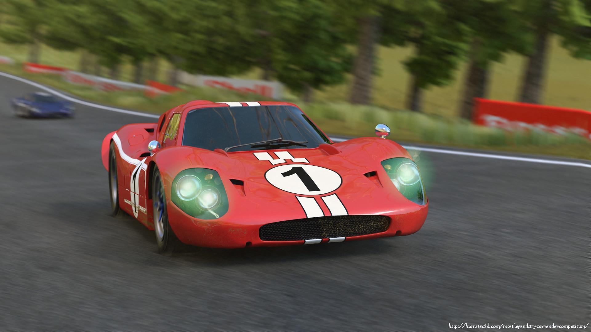 Ford GT40 Mk. IV 1967 3d art