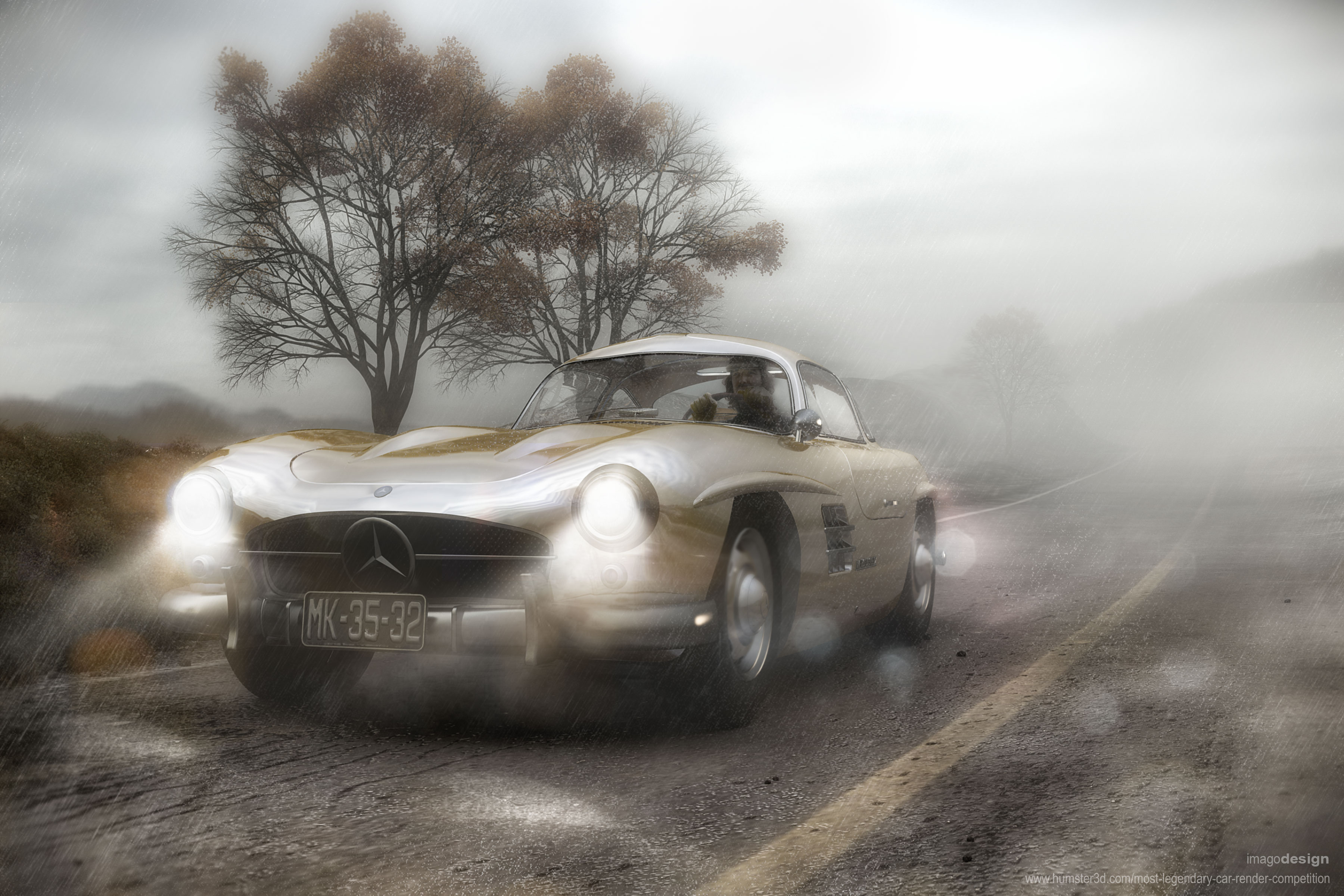 My toy car - the Gullwing