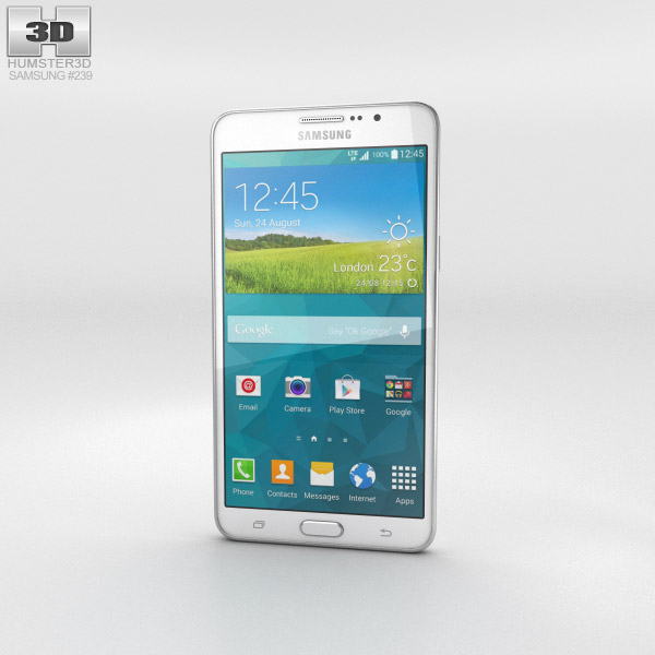 Samsung Galaxy Mega 2 White 3d model