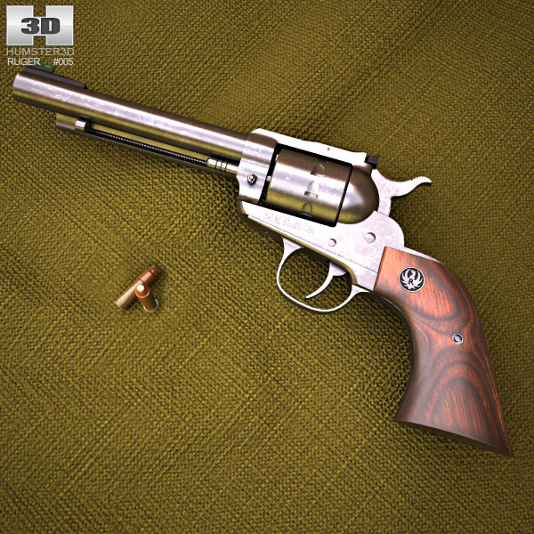 Ruger Single Ten 3d model