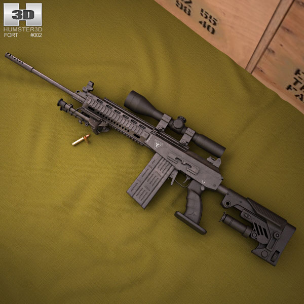 Fort-301 3d model