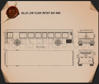 Gillig Low Floor Bus 2012 Blueprint
