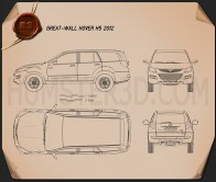 Great Wall Hover H5 2012 Blueprint