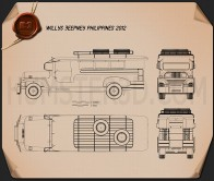 Willys Jeepney Philippines 2012 Blueprint