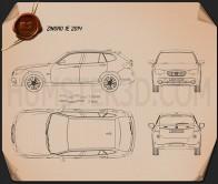 Zinoro 1E 2014 Blueprint