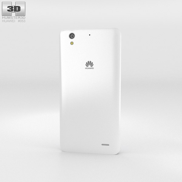 Huawei Ascend G630 White 3d model