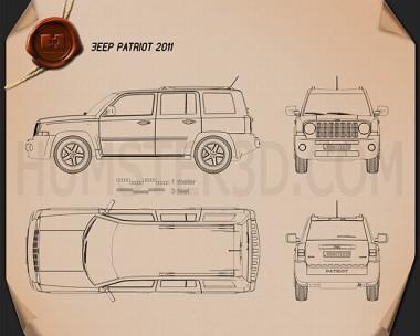 Jeep Patriot 2011 Blueprint