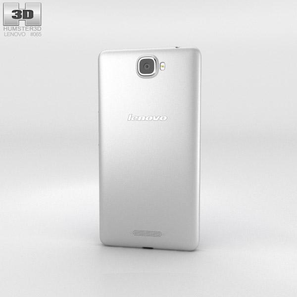 Lenovo S856 Silver 3d model