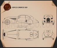 Bentley Embiricos 1938 Blueprint