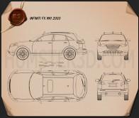 Infiniti FX 2003 Blueprint