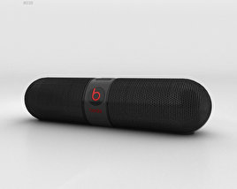 Beats Pill 2.0 Wireless Speaker Black 3D model