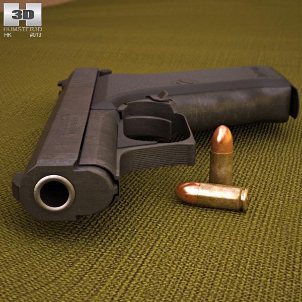 Heckler & Koch P7M8 3d model