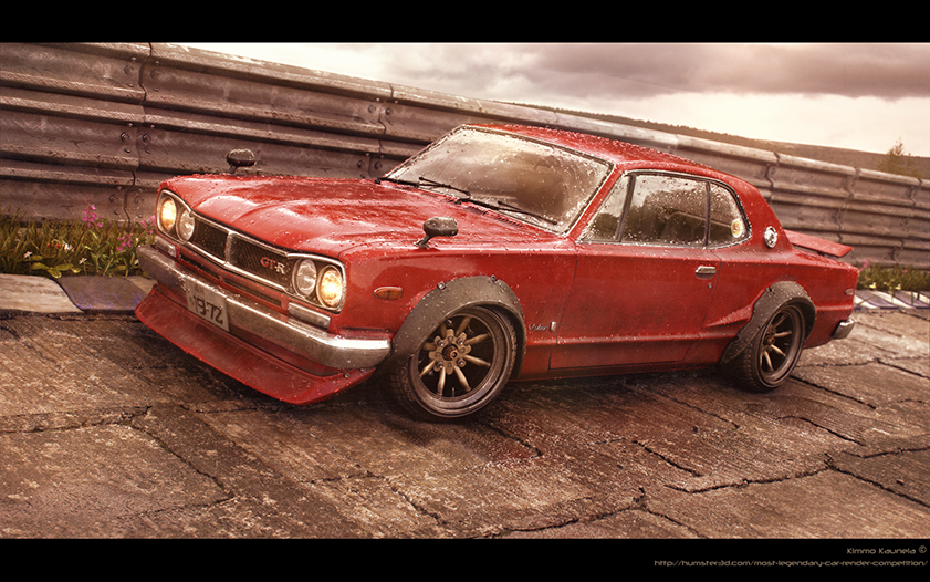 Red Baron – Nissan Skyline -72