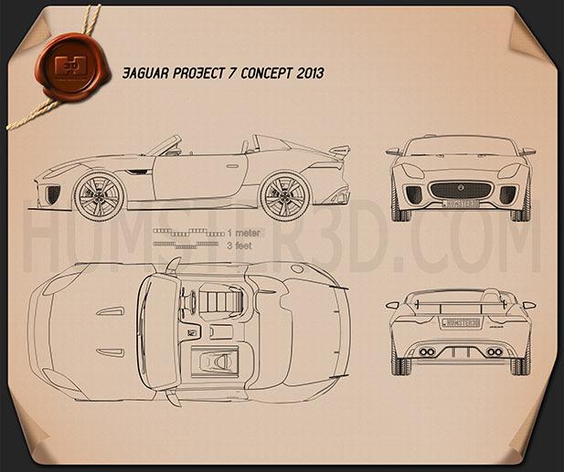 Jaguar Project 7 2013 Blueprint