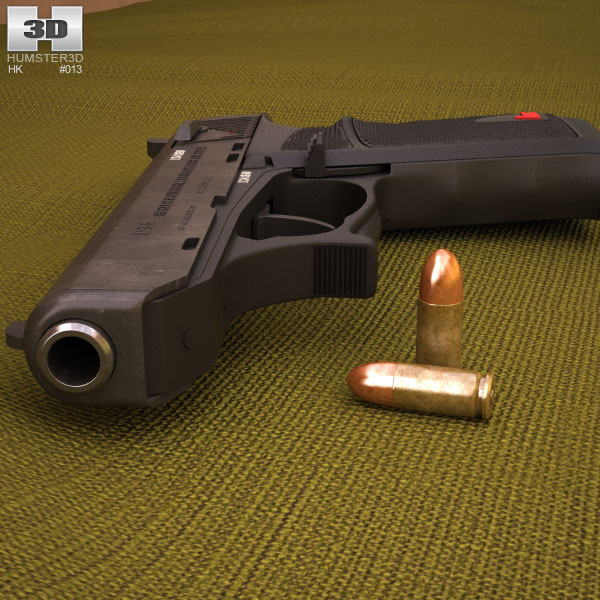 Heckler & Koch P9s 3d model
