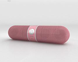 Beats Pill 2.0 Wireless Speaker Nicki Pink 3D model