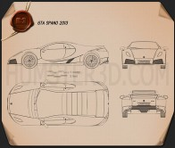 GTA Spano 2013 Blueprint