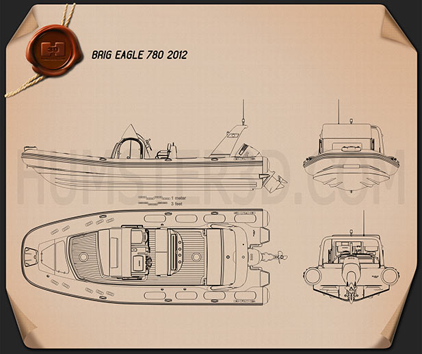 Brig Eagle 780 2013 Blueprint