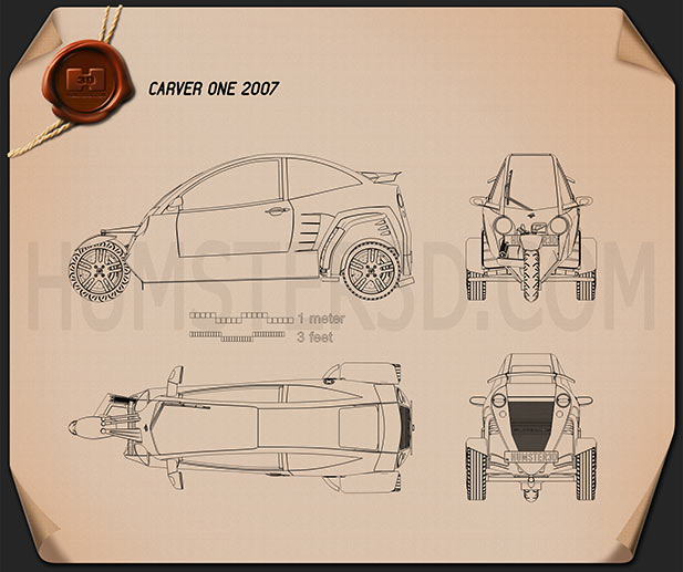 Carver One 2007 Blueprint