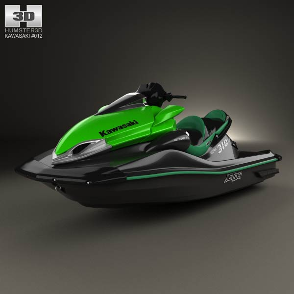 Kawasaki Ultra 310LX 2014 3d model