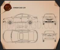 Changan Eado 2011 Blueprint