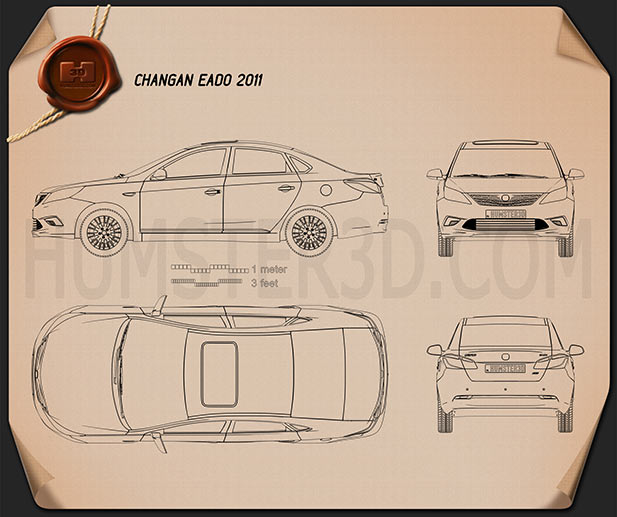 Changan Eado 2011 Blueprint