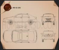 BYD G3 2012 Blueprint