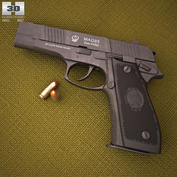 MAG-95 3d model