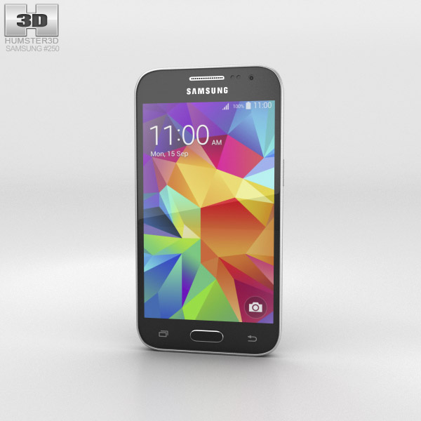 Samsung Galaxy Core Prime Black 3d model