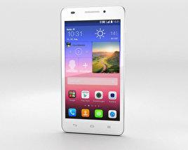 Huawei Ascend G620S White 3D model
