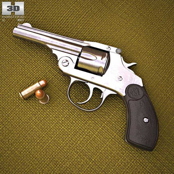 Iver Johnson .32 3d model