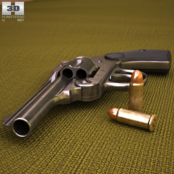 Iver Johnson .32 3d model