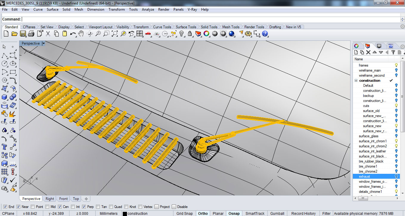 making of the gullwing hum3d blog