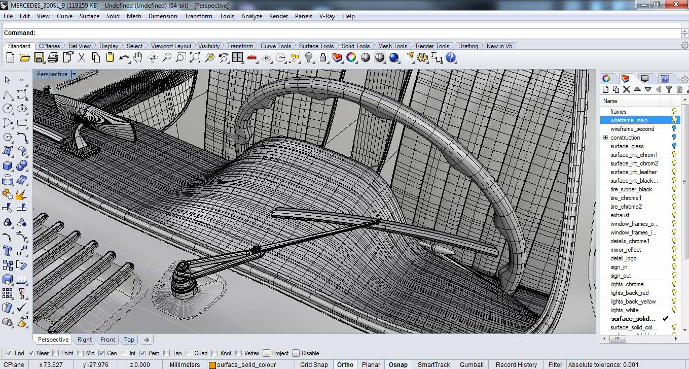 Curve modelling VS. SubD (Sub Division) Modelling