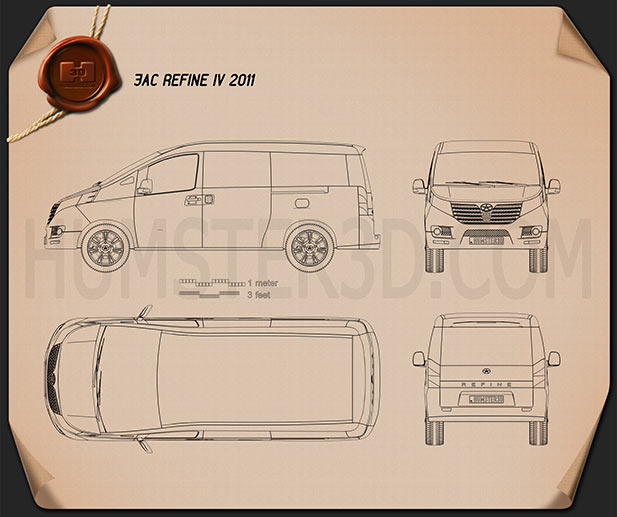 JAC Refine IV 2011 Blueprint