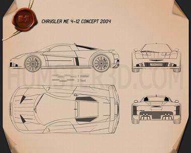 Chrysler ME 4-12 2004 Blueprint