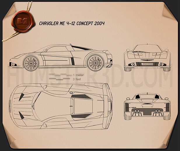Chrysler ME 4-12 2004 Blueprint
