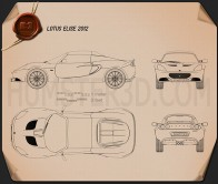 Lotus Elise 2012 Blueprint