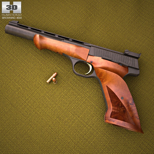 Browning Medalist .22 LR 3d model