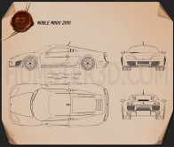 Noble M600 2012 Blueprint