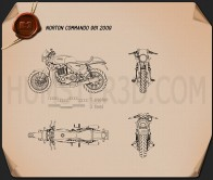 Norton 961 Commando 2009 Blueprint