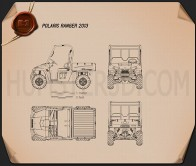 Polaris Ranger 2013 Blueprint