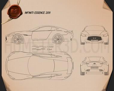 Infiniti Essence 2011 Blueprint